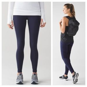 Lululemon Speed Tight V (Brushed) Size 8